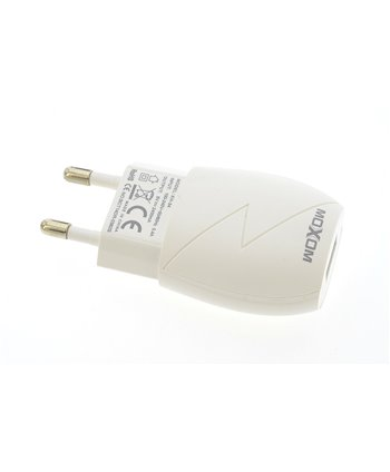 Thuislader High Performance Wit - micro usb  2.4A  Moxom (8719273233689)