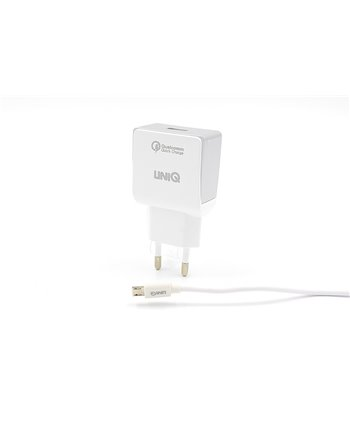 Home charger Micro USB 2.4A - Wit (8719273234891)
