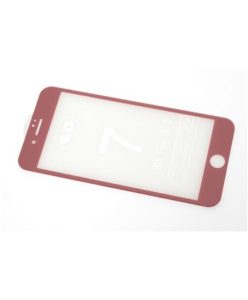 Glas screenprotector H9 4D voor Apple iPhone 7 Plus - Rose Gold (8719273251638)