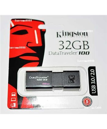 Kingston 32 GB USB Stick - Zwart (740617211719)