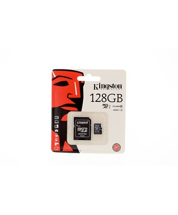 Kingston Micro SD 128 GB Geheugenkaart - class 10
