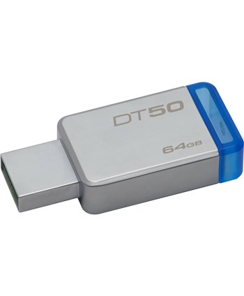 Kingston 64 GB USB Stick - Silver 740617255751