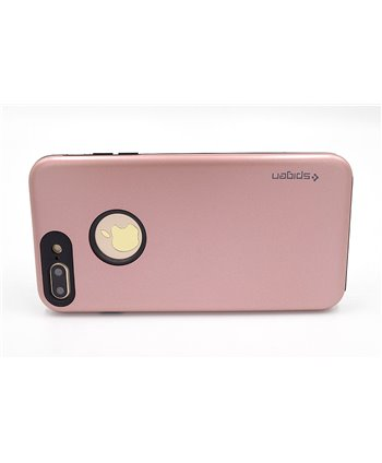 Hardcase hoesje voor iPhone 7/8 Plus - Rose Gold