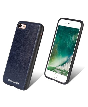 Pierre Cardin silicone backcover voor iPhone 7/8 - Blauw