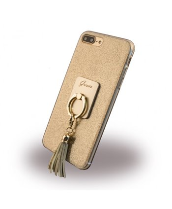 Guess silicone backcover voor iPhone 7/8 - Goud