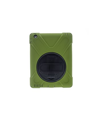 Hard case Tablet voor iPad 2-3-4 - Groen